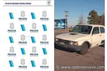 Roban un auto en Trenque Lauquen y lo abandonan en la Ruta 5 cerca de Juan José Paso - Cadena Nueve