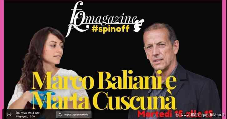 """Marco Baliani dal primo palco (con balletto scosciato) al futuro del teatro: """"Serve rischiare e fare i conti con quello che ci è successo"""""""