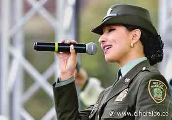 Juliana Pabón, la patrullera que le canta a la paz de Colombia - EL HERALDO