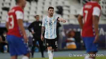 Argentina y Chile firman la paz en su debut de la Copa América - MARCA.com