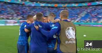 Euro 2020: Polónia de Paulo Sousa perde na estreia frente à Eslováquia - TVI24