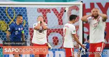 Polónia, de Paulo Sousa, entra a perder no Euro2020 - SAPO Desporto