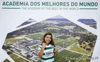 Margarida Sousa renova ligação ao Sporting CP   Site oficial do Sporting Clube de Portugal - Sporting Clube de Portugal