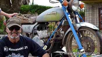 Restauración de motos clásicas: vecino de Monte Grande cuenta los secretos del oficio - El Diario Sur