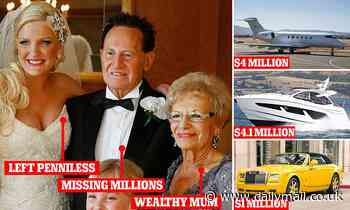 Disgraced businessman Geoffrey Edelsten died living off the inheritance of his mother