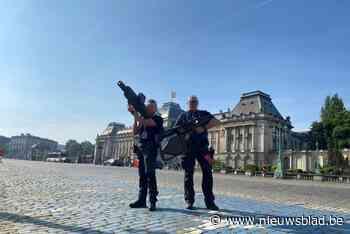 Antwerpse politie ondersteunt veiligheidsdiensten bij bezoek van Amerikaans president met 'dronevanger'