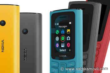 Nuevos Nokia 105 4G y Nokia 110 4G: el retorno de dos clásicos que ahora traen conectividad LTE - Xataka Móvil