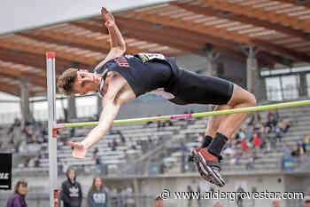 VIDEO: With one jump, Langley Mustangs high jumper Aiden Grout has qualified for three international competitions – Aldergrove Star - Aldergrove Star