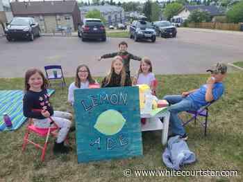 Local children demonstrate community heroism - Whitecourt Star