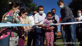 """En Cerro Azul Herrera Ahuad agradeció el respaldo de los misioneros y valoró que en la provincia """"podemos seguir integrando a la ciudadanía"""" - Misiones OnLine"""