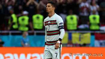 Ronaldo becomes first man to play at five Euros