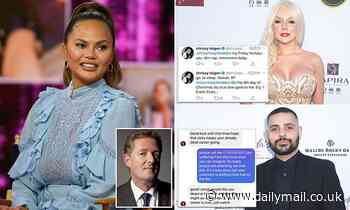 PIERS MORGAN: Chrissy Teigen would have led charge to cancel anyone who said the filth she spewed