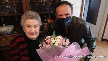 Galliate, una torta da cento candeline per nonna Caterina - La Voce Novara e Laghi - La Voce di Novara