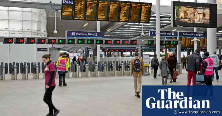 Rail employers and unions agree to talks over £2bn of cuts and job losses
