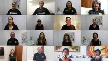 Polícia Civil: Coral Domingos Martins grava hino da Polícia Civil em homenagem ao Dia do Policial Civil - Portal Maratimba