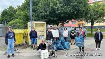 """Umweltschutz in Prenzlau: """"Plastikrebellen"""" sammeln 61 Kilo (!) Müll - Nordkurier"""