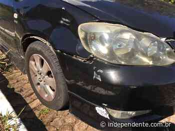 Acidente deixa motociclista ferida no Bairro Universitário, em Lajeado - independente