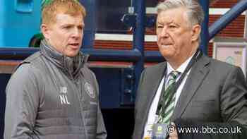 Celtic: Neil Lennon says chief executive Peter Lawwell was 'chased out' by fans