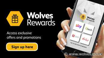 Wolves Rewards offers supporters discounts on big brands - wolves.co.uk