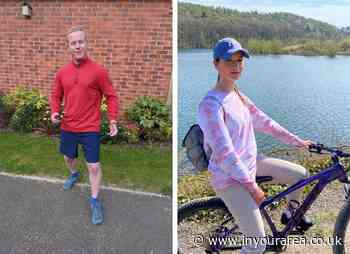 Wolverhampton colleagues take fitness charity challenge in their stride - In Your Area