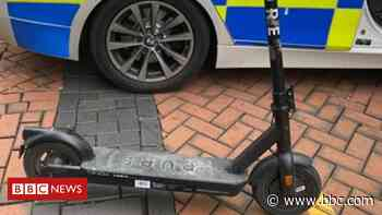 Man critically hurt in e-scooter crash with car in Wolverhampton - BBC News
