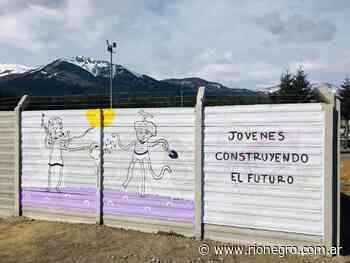 Prohibir los grafitis solo trajo problemas en La Angostura y proponen una solución - Diario Río Negro