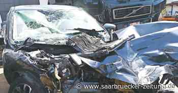 Unfall am Potsdamer Platz bei Perl am Montag, 14. Juni - Saarbrücker Zeitung