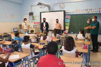 El alcalde de El Ejido participa en la experiencia escolar 'Y tú, ¿qué haces por mí?' del CEIP Laimún - Teleprensa periódico digital
