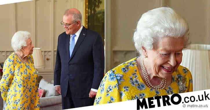 Queen meets Australian PM face-to-face after major Brexit trade deal