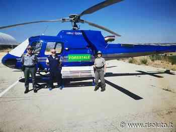 Per il terzo anno consecutivo l'elicottero a Sambuca per i servizi antincendio - Risoluto