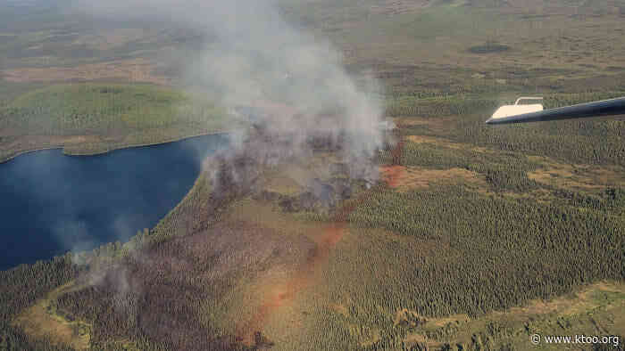 Fire crews respond with force to fire in Kenai National Wildlife Refuge