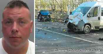 Camper van driver hurt two women by deliberately driving into oncoming traffic