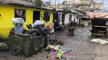 Desbordamiento de río deja viviendas afectadas en Quito en medio de la cuarentena por el covid-19 - El Comercio - El Comercio (Ecuador)