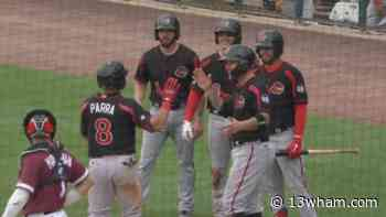 Red Wings win off Parra grand slam in Lehigh Valley - 13WHAM-TV