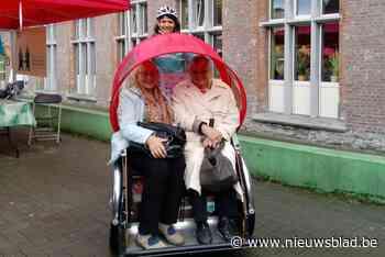 Voor 3 euro naar de winkel en terug: fietstaxi's rijden hele zomer rond in Gent - Het Nieuwsblad