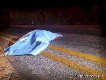 Muere motociclista al ser embestido en el tramo a saucillo - La Opcion