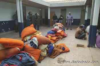 12 presos de Sáenz Peña intentaron fugarse por un boquete: fueron requisados y el plan fue frustrado - Diario Chaco