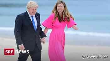 Britische First Lady – Carrie Johnson, die neue Ikone für gemietete Mode - Schweizer Radio und Fernsehen (SRF)