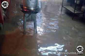 Inundaciones en 10 viviendas por desbordamiento de barranca en Huaquechula - 24 Horas El Diario Sin Límites Puebla