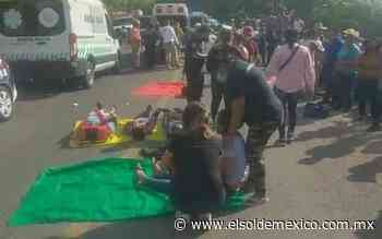 Combi con pasajeros cae al fondo de una barranca en Chiapas; hay 23 lesionados - El Sol de México