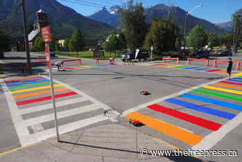 Rainbow crossings come to Fernie – The Free Press - The Free Press