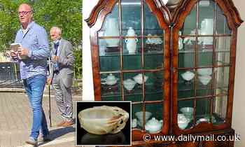 Gardener and son 'stole Chinese antiques from widow and auctioned them at Bonhams for £1.5m'
