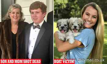 Son and mom of prominent South Carolina legal family were shot 'multiple times' in double murder