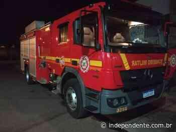 Princípio de incêndio é controlado em oficina, no Bairro Montanha - independente