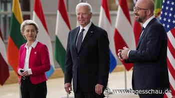 Biden in Brüssel: Ein Durchbruch und viele Arbeitskreise