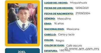 Desaparece Joel Contreras en Mixquiahuala - Periódico AM