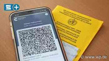 Digitaler Impfpass in Meschede mit Anlaufschwierigkeiten - Westfalenpost
