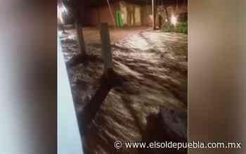 Lluvias desbordan barranca en Huaquechula - El Sol de Puebla