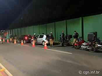 Ação da PM flagra condutores bêbados em Ponta Grossa - CGN