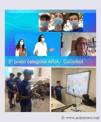 """Un drone per salvaguardare l'ambiente: istituto """"Galilei"""" di Mirandola terzo alle Olimpiadi di robotica - SulPanaro"""